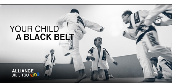 Your child a black belt