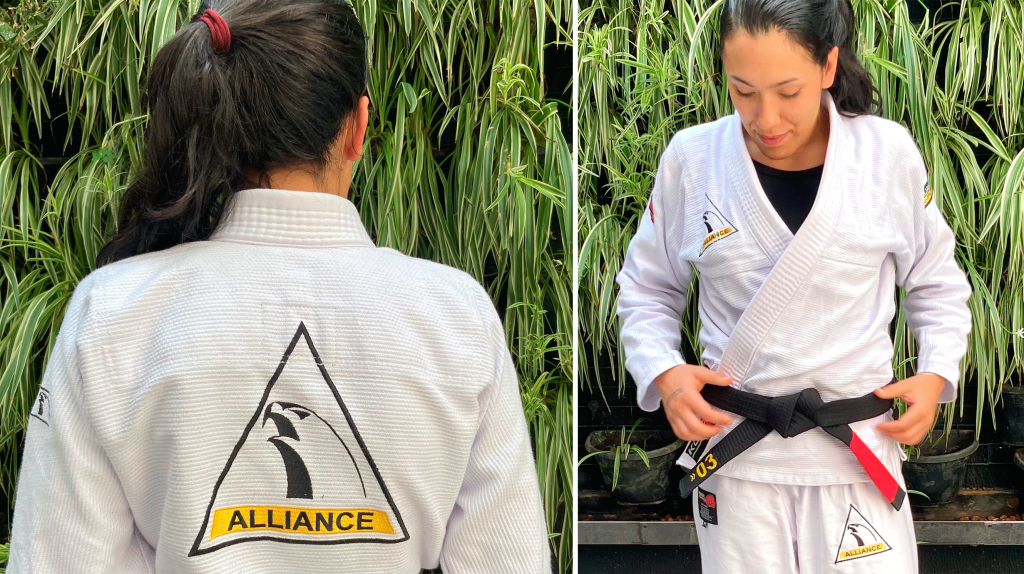 Kimono Feminino Alliance by Koral Branco