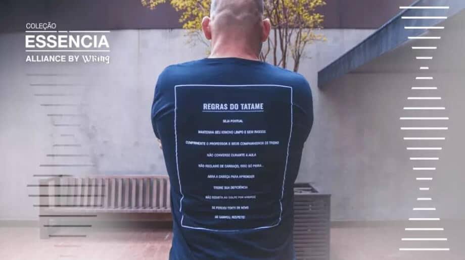 Camiseta Alliance by Wring Regras do Tatame